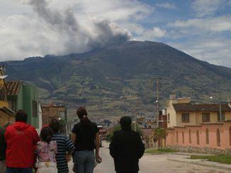Volcán Galeras en Colombia