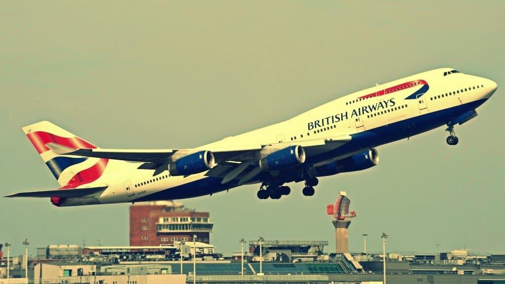 línea aérea British Airways
