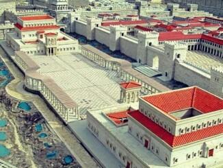calles de la época de Herodes