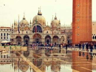 Plaza de San Marcos en Venecia