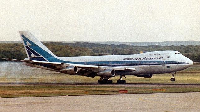 Boeing 747 de Aerolíneas Argentinas