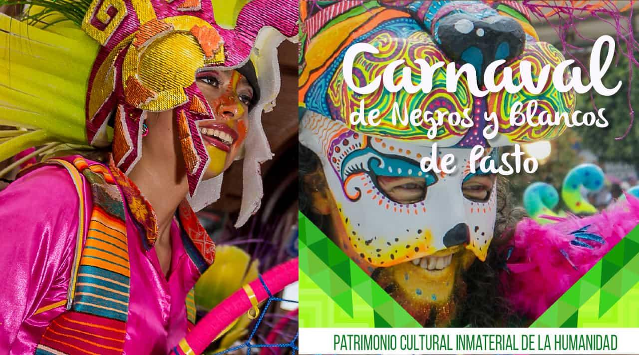Carnaval de Negros y Blancos en Pasto, Colombia