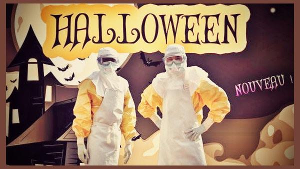 disfraz ebola