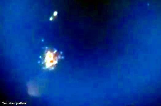 Explosión de un Posible OVNI
