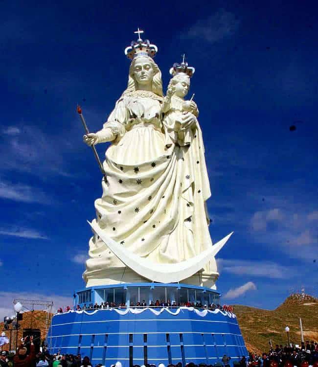 Virgen del Socavón Bolivia