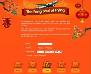Jetstar ofrece a sus pasajeros un estudio de Feng Shui..