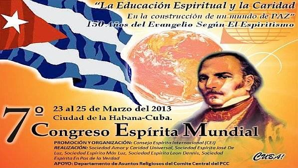 Congreso Espiritista Mundial en Cuba