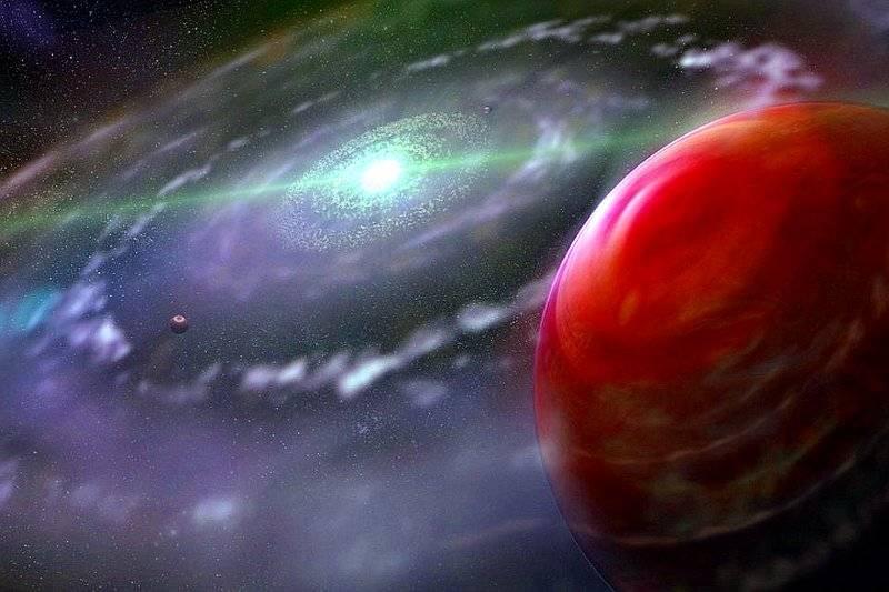 Exoplaneta HR 8799c