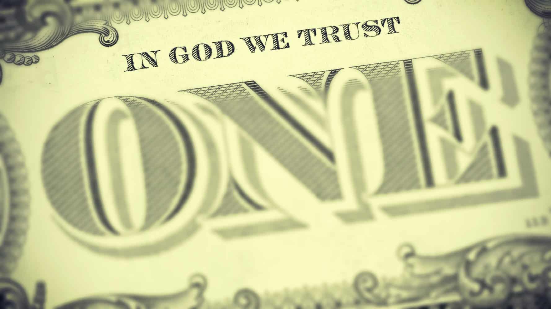Los Estadounidenses que no quieren a Dios en el Dólar