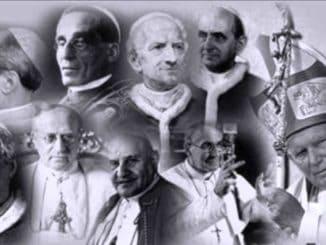 Relación de los últimos papas con el poder