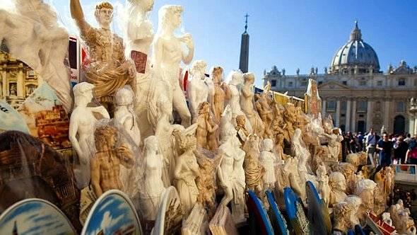 Souvenirs Vaticano
