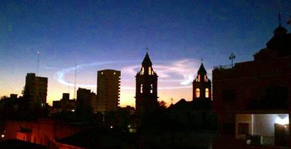 Conmoción en el norte de Argentina por un extraño fenómeno en el cielo