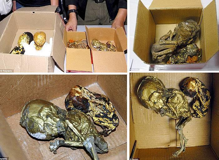 Magia negra con fetos humanos en Tailandia