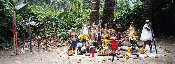Elementos utilizados en la ceremonia