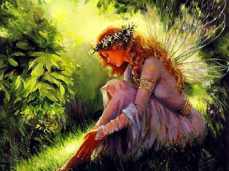 Según la mitología Celta, las hadas gustan de los árboles del Tilo o Sauces