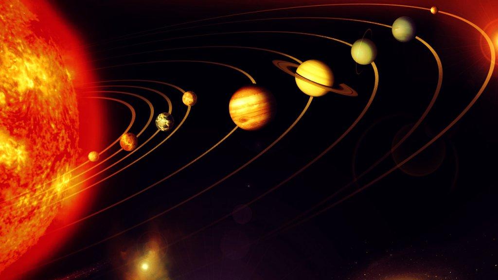 Siete planetas para siete días de la semana