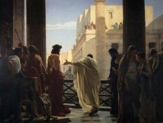 Juicio político-religioso contra Jesucristo
