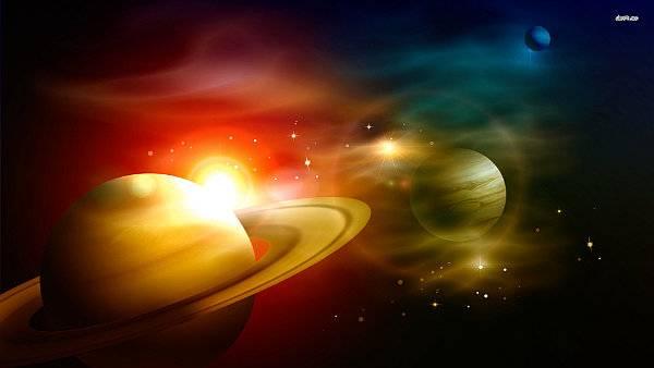 Sucesos mundiales según posiciones planetarias