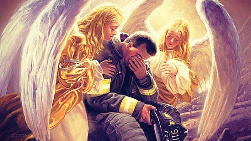 Los ángeles no ayudan si no se los pides