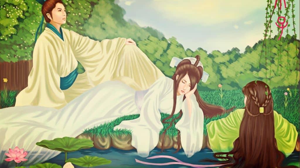 La serpiente blanca y Xu Xian — Leyendas populares chinas