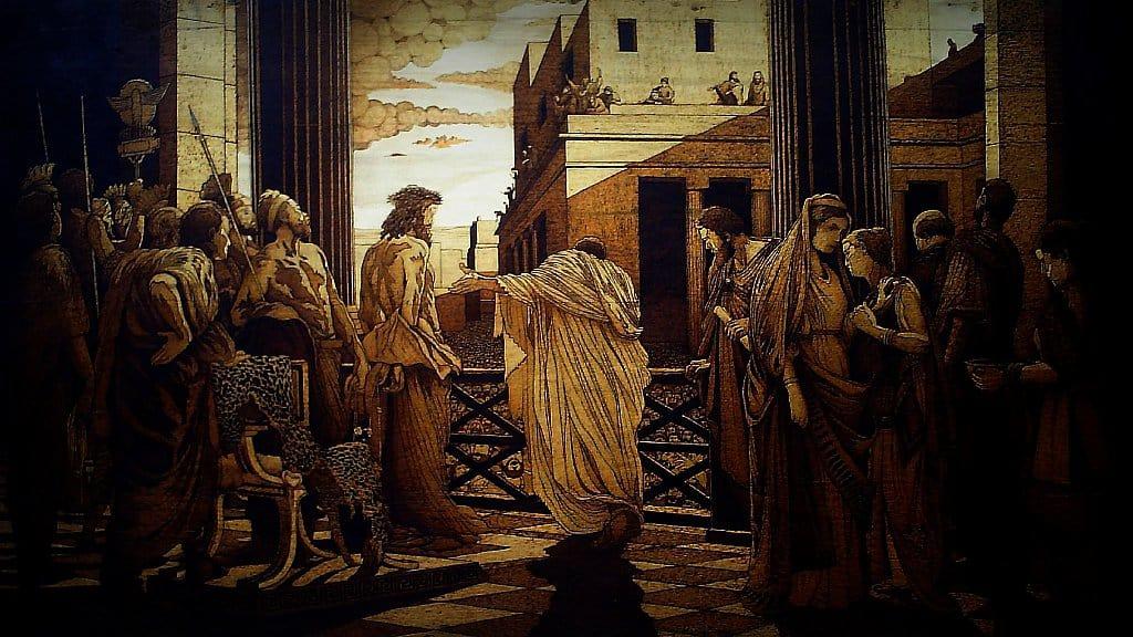 La corrupción de lo gobiernos ha permanecido desde la época de Pilato