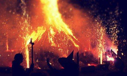 La Noche de Walpurgis — Se encienden hogueras por toda Suecia
