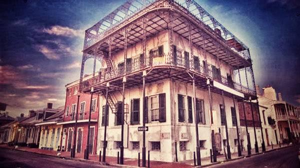 Casa del Sultán en Nueva Orleáns