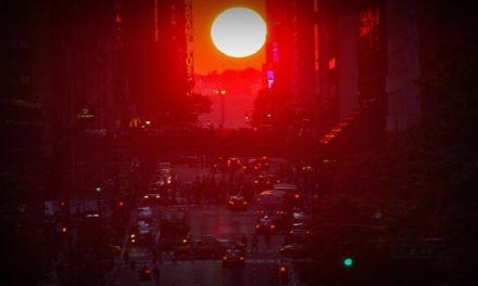 Manhattanhenge — 29 de Mayo y sólo en Manhattan, New York