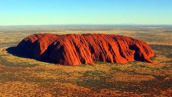 corazón rojo de Australia