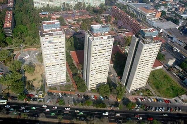 Edificios de Tlatelolco