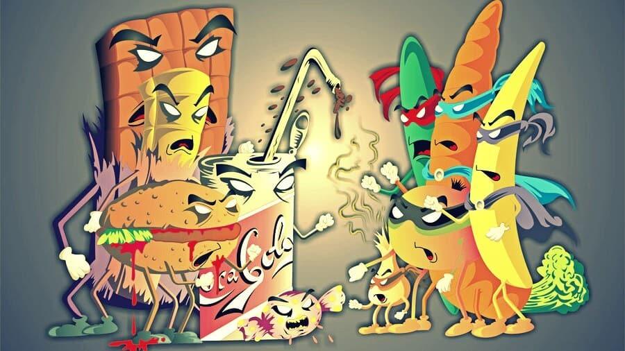 alimentos con ira