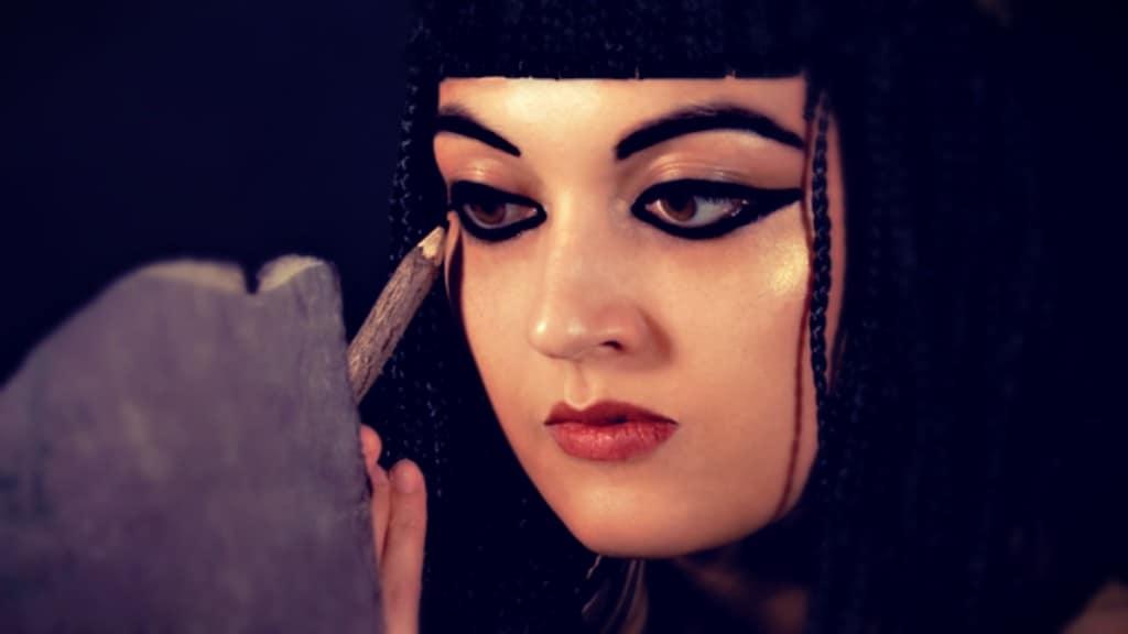 ¿Por qué los antiguos egipcios se maquillaban los ojos?