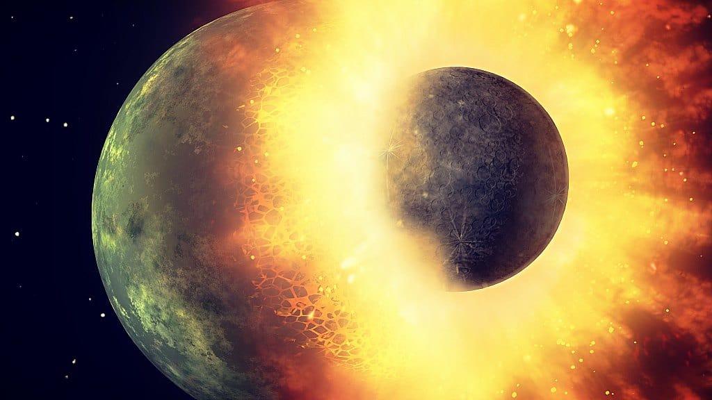 Marte y Plutón hacen erupción — Luna llena de la humanidad