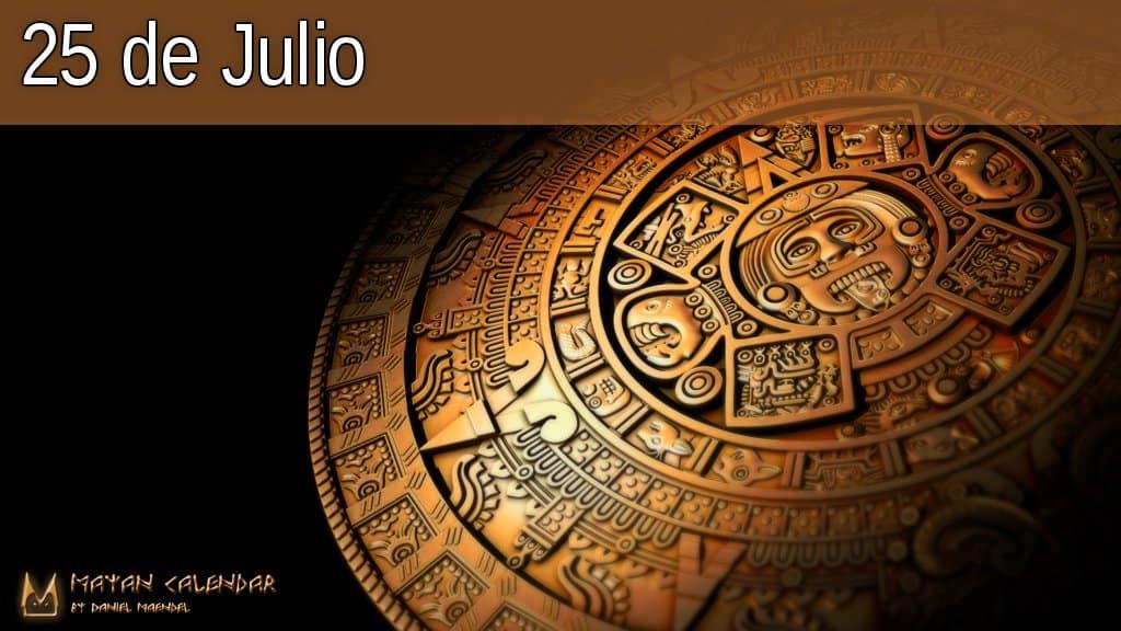 25 de Julio — Día fuera del tiempo — Calendario Maya