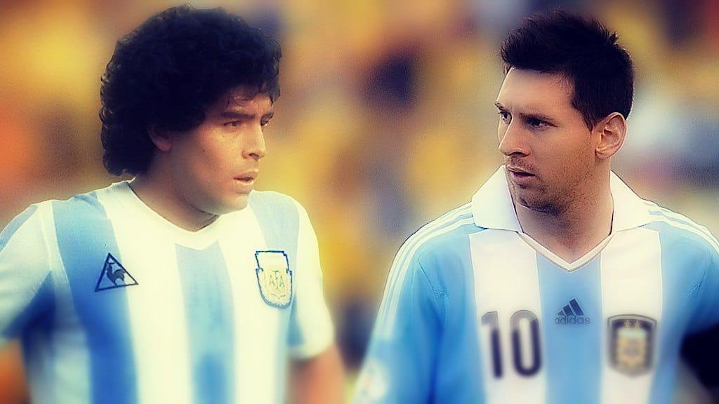 Coincidencias entre Messi y Maradona del 86