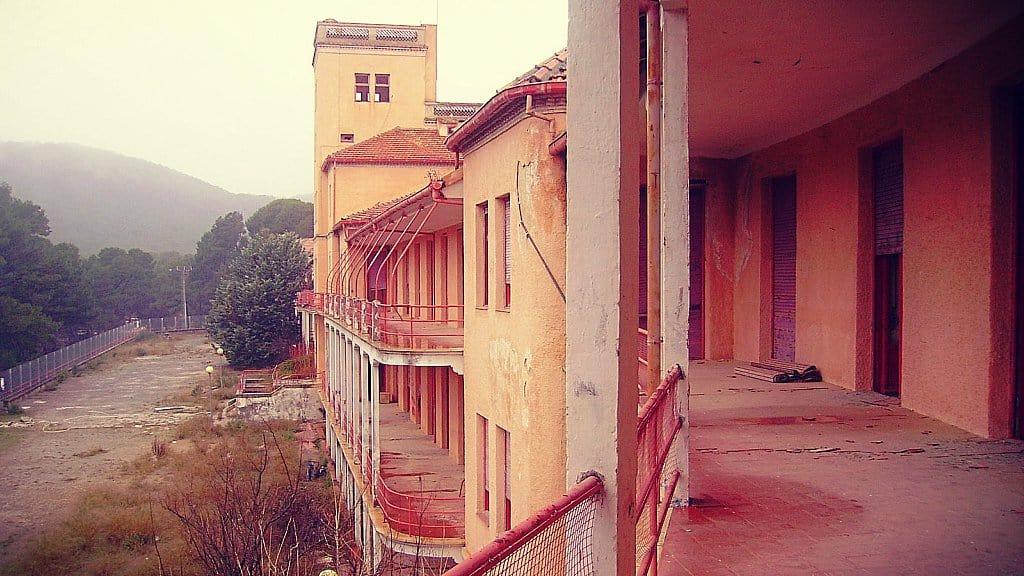 El Sanatorio de Sierra Espuña