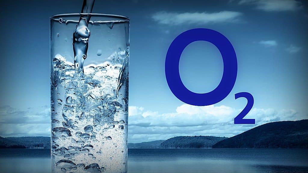 Agua enriquecida con oxígeno