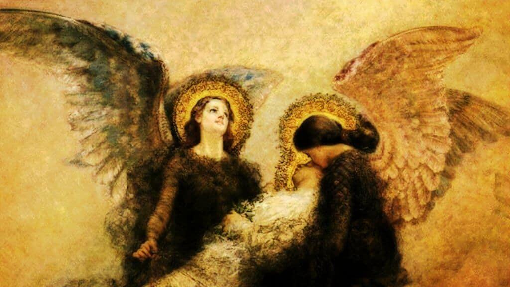 ángeles son espíritus puros