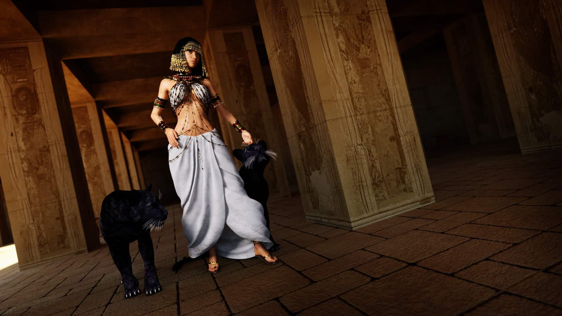 Los egipcios y la veneración por los gatos