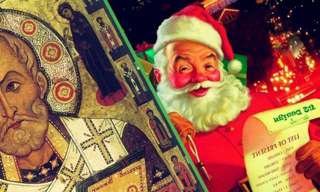 Historia y Origen de Santa Claus, Papa Noé, San Nicolás