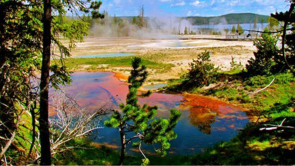 explosión volcánica en Yellowstone