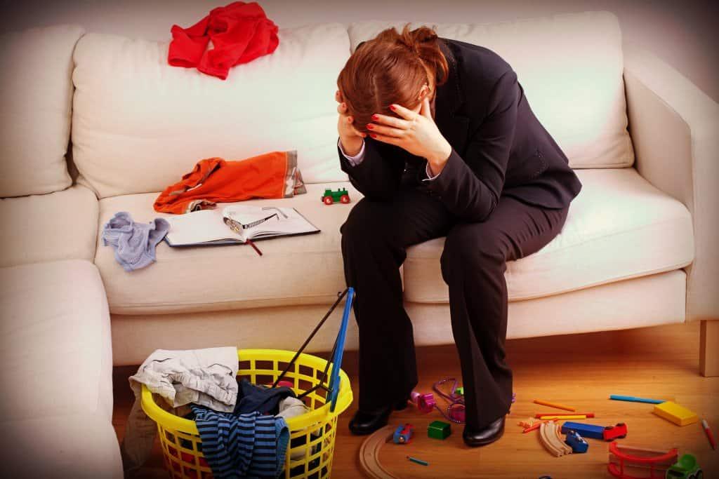 Síndrome de burnout en los padres