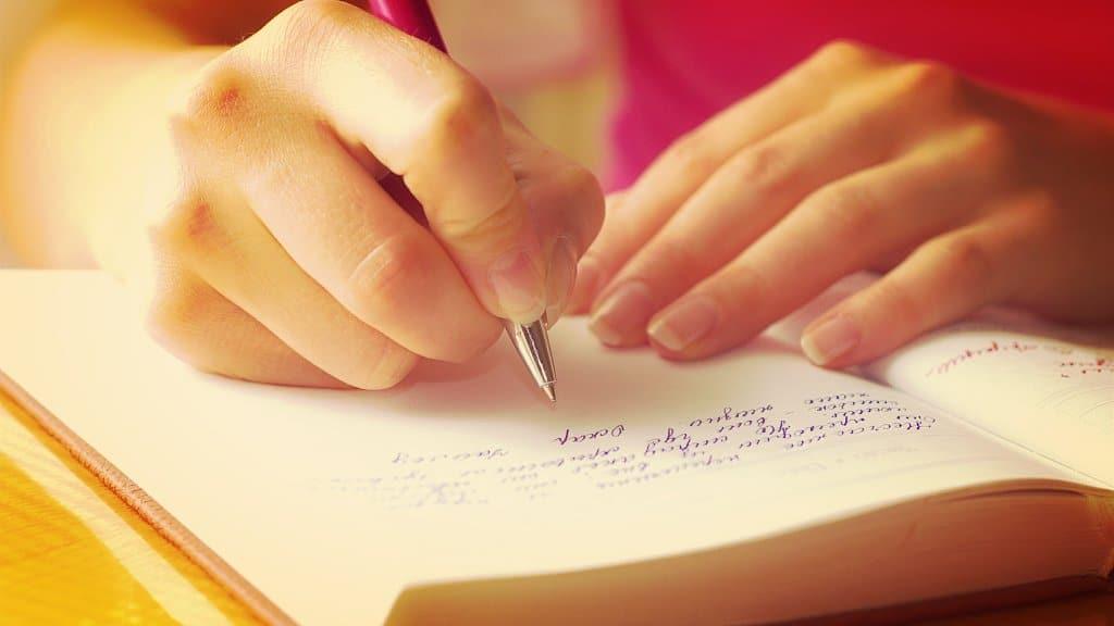 Si escribes tus planes se harán realidad