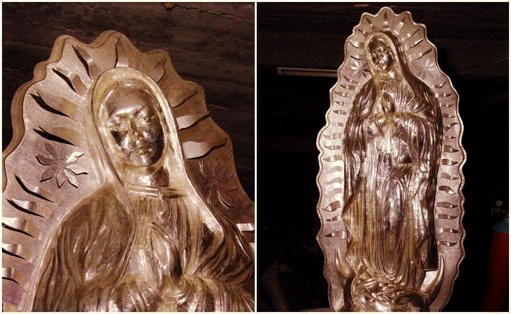 Peregrina de la Paz — La Virgen monumental de plata más grande del mundo
