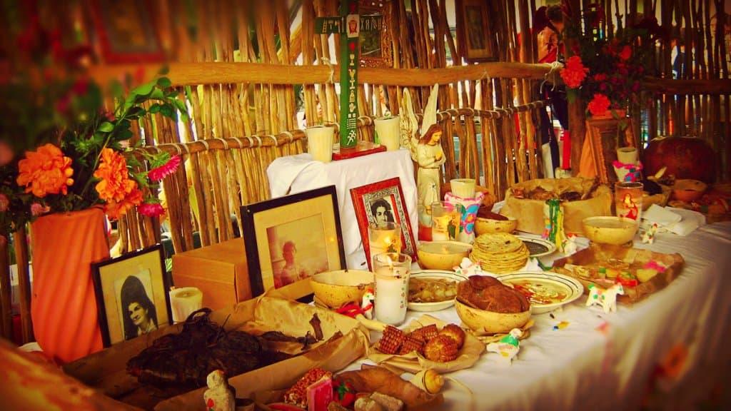 Día de los Muertos en México — Elementos del Altar Hanal Pixán