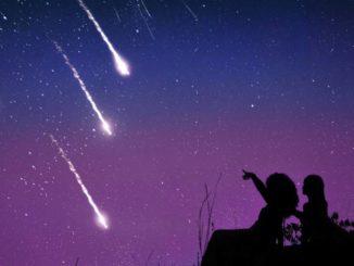 Lluvia de Estrellas las Gemínidas