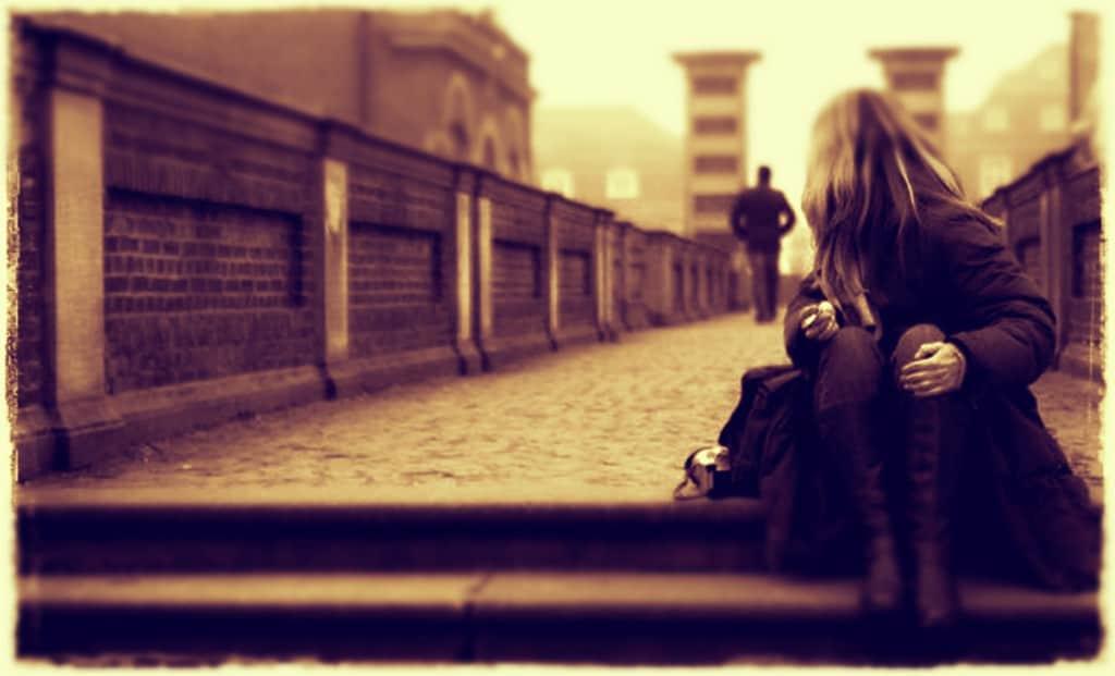 Nunca se despidan enojados de la persona que aman
