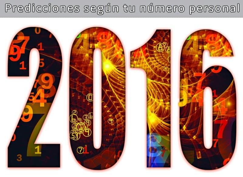 Numerología 2016 — Predicciones según tu número personal