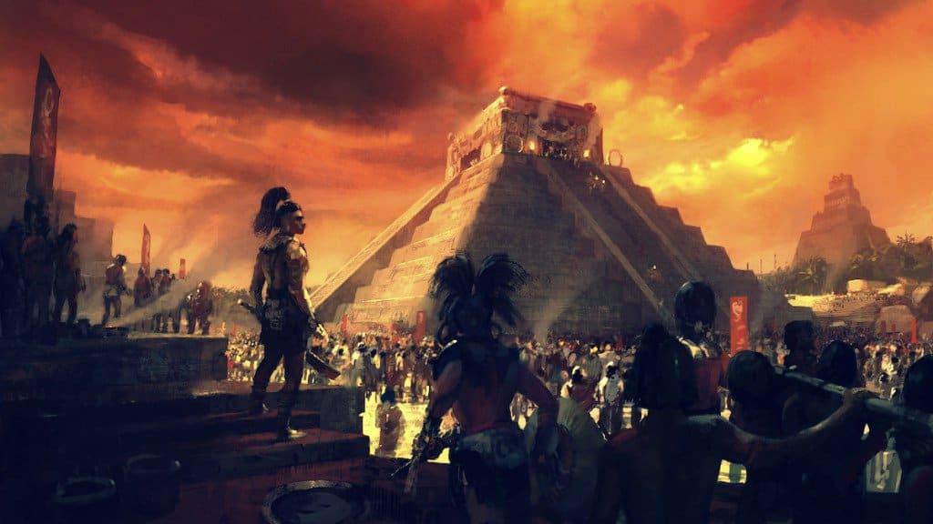 Cambio Climático y la desaparición de los Mayas
