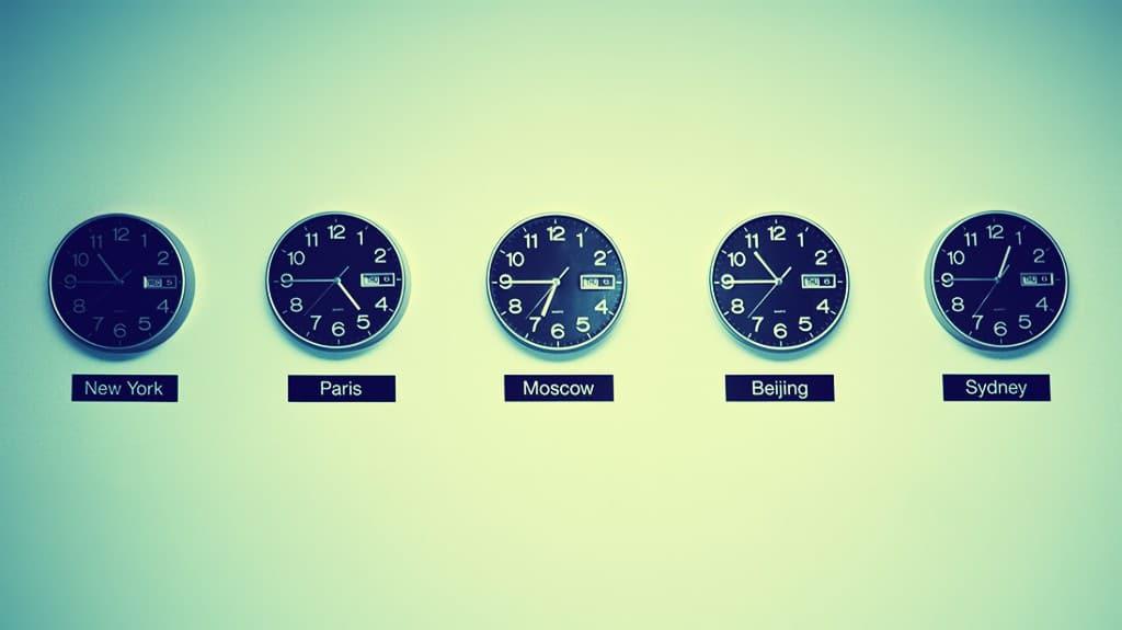 ¿Estás a favor de la creación de una hora universal?